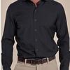 Grijs 100% merino wollen overhemd