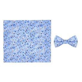 R2 Kids sports print cotton bow tie.