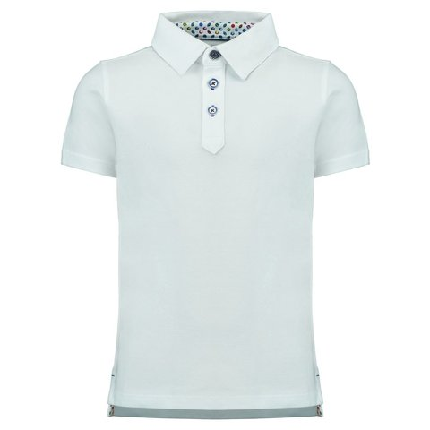 Kids witte polo.