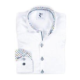R2 Kids white cotton shirt.