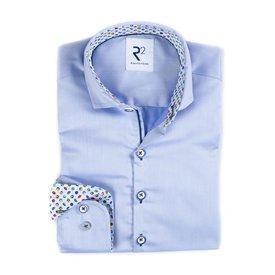 R2 Kids light blue cotton shirt.