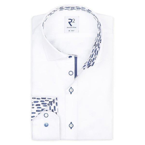 R2 White cotton shirt.