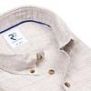 Grey pied de poule linen shirt.