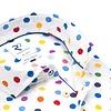 Multicolour dots print cotton shirt.
