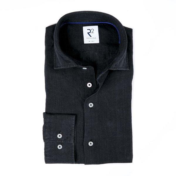 R2 Black linen shirt.