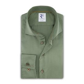 R2 Green 2 PLY cotton shirt