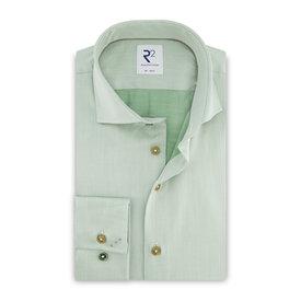 R2 Light green 2 PLY cotton shirt