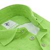 Groen 4-way stretch jersey overhemd
