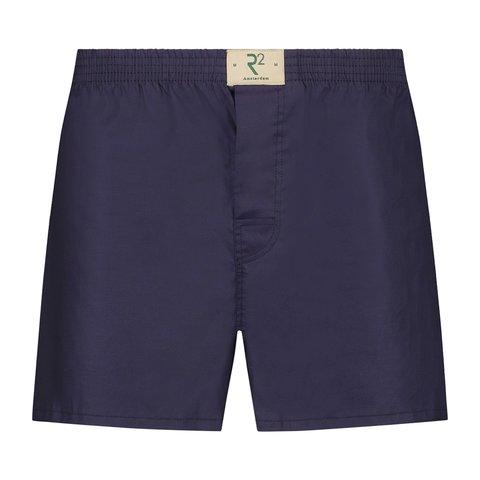 Donkerblauwe katoenen boxershort