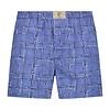 Blauw ruiten katoenen boxershort