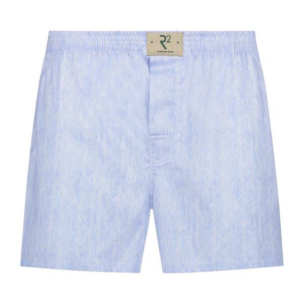 R2 Lichtblauw katoenen boxershort