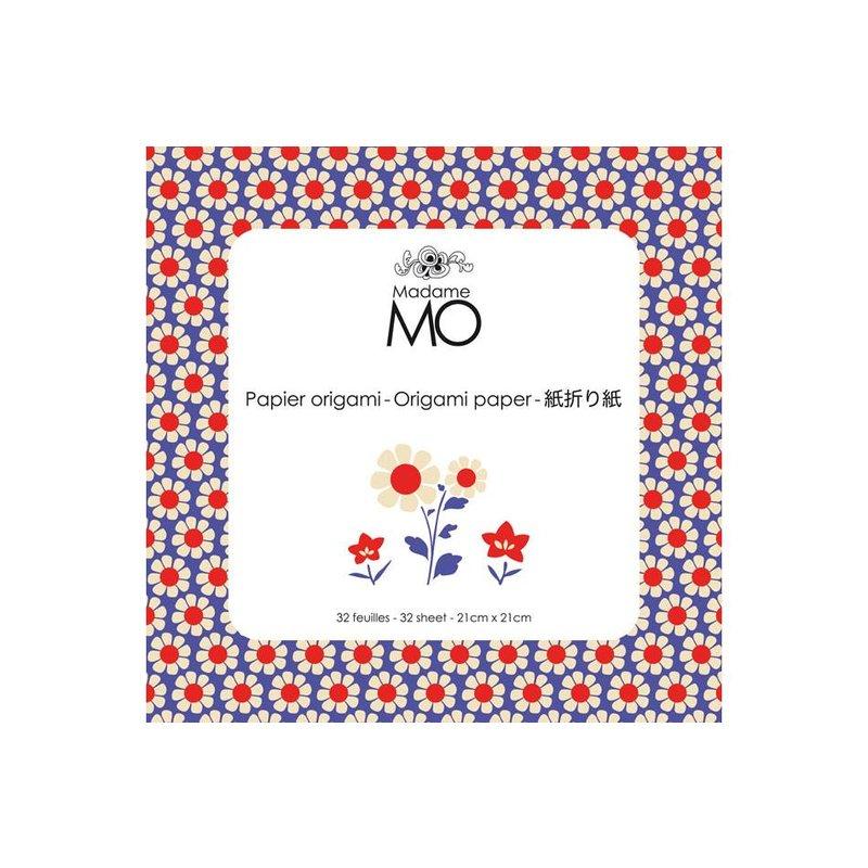 Madame Mo Origami paper 4