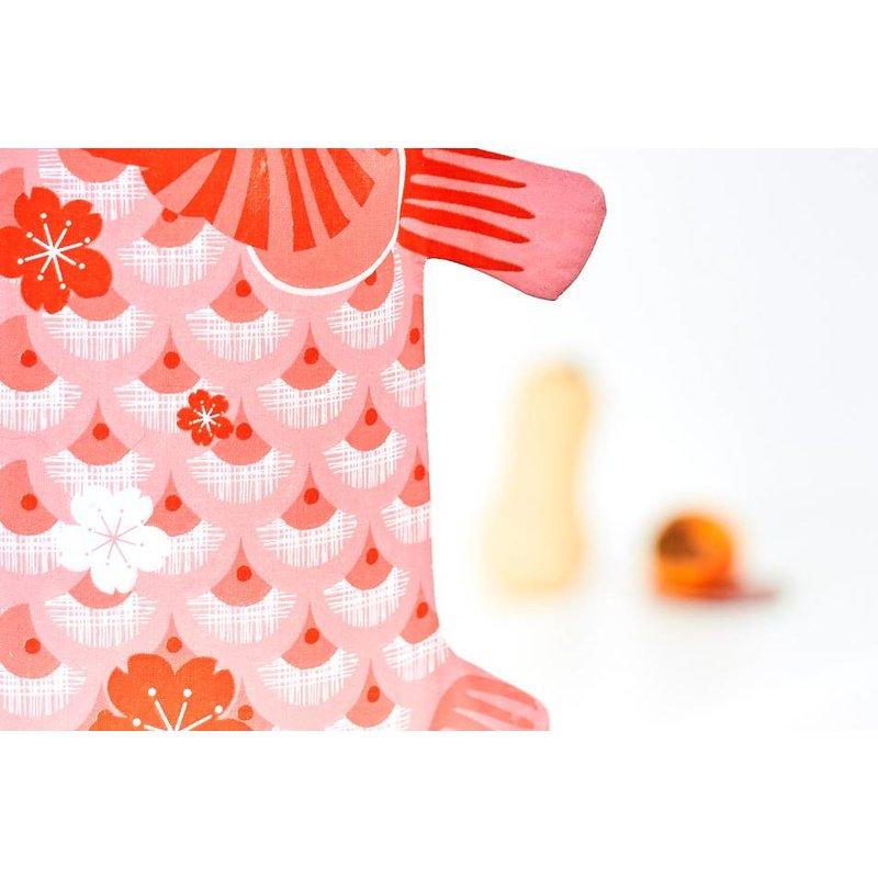 Karpervlag koraal roze