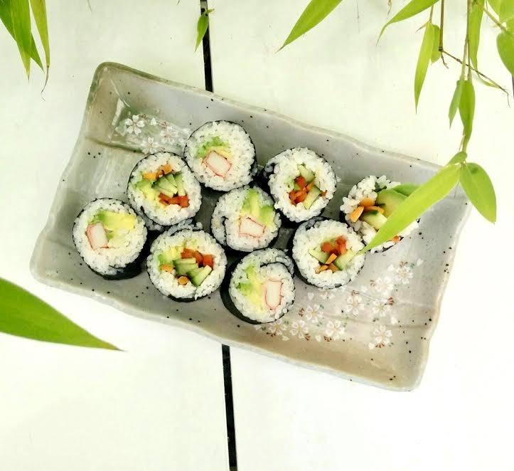 Zelf sushi maken: de California-rol
