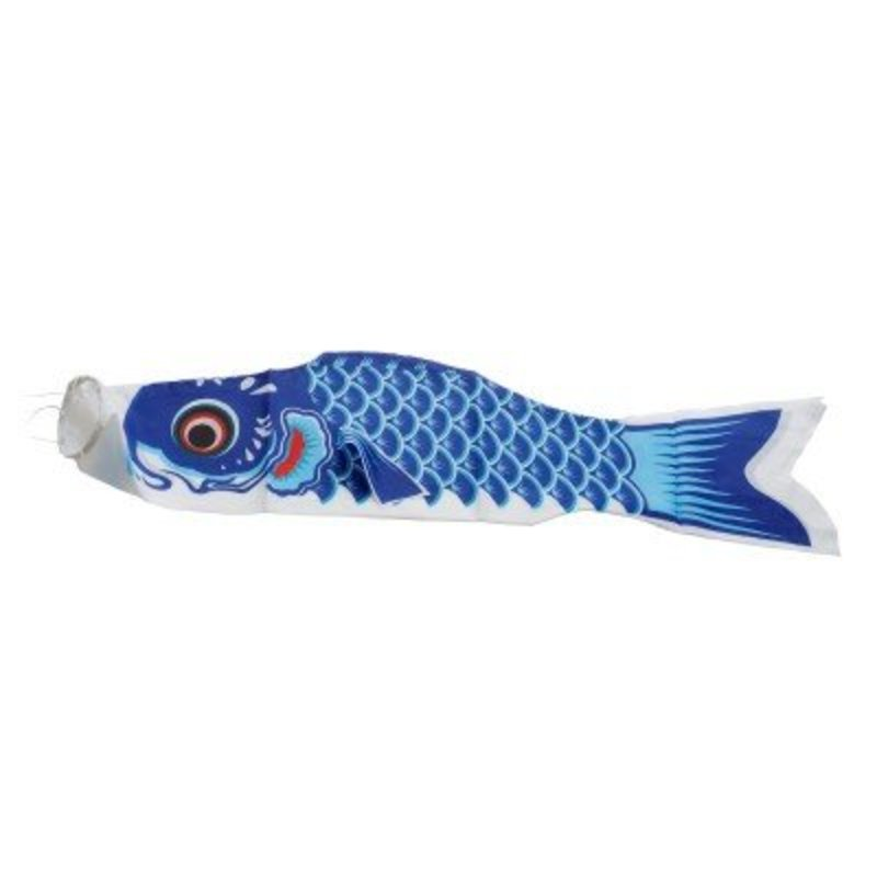 Koinobori karpervlag blauw