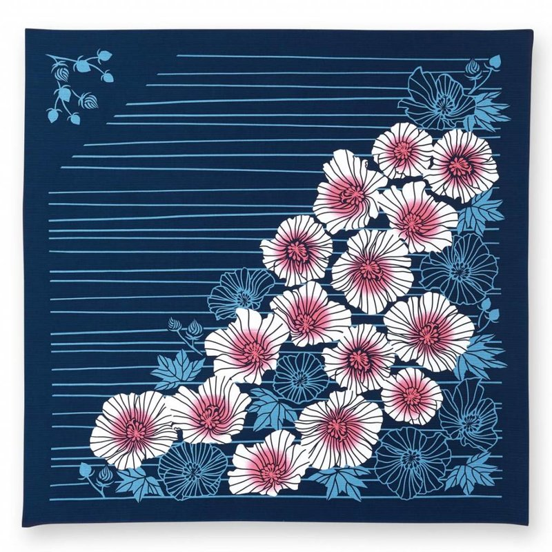Japanese furoshiki lilies