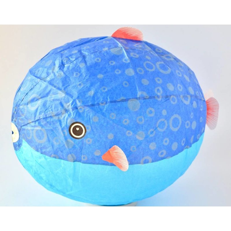 Japanese paper balloon puffer XL