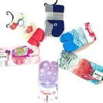 Japanse tabi sokken en geborduurde patches