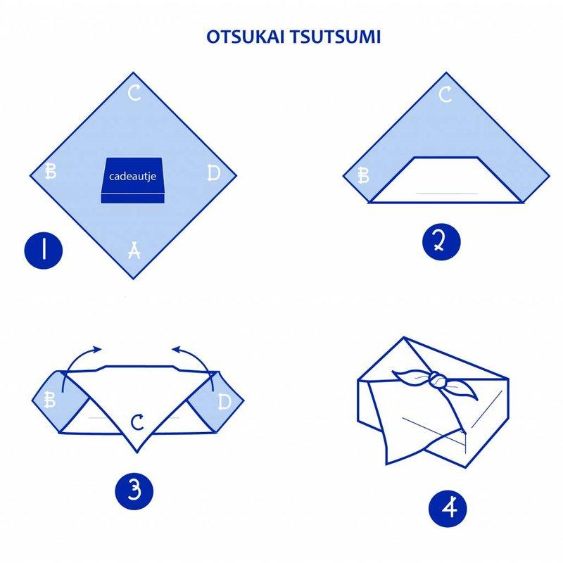 Furoshiki Usagi, Japanse knoopdoek