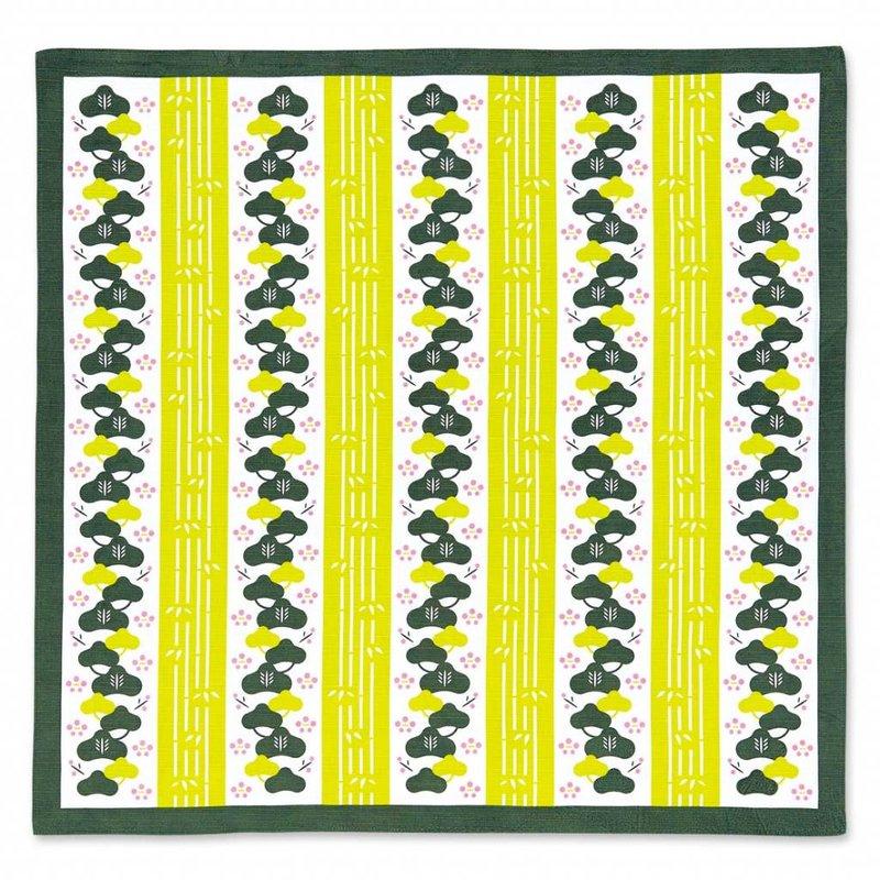 Furoshiki matsu take ume, Japanese wrapping cloth