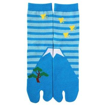 Kyo To To Sokken Fuji Blauw