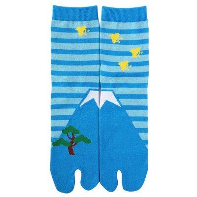 Sokken Fuji Blauw