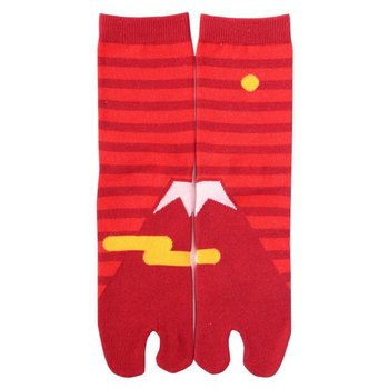 Kyo To To Socks Fuji Red