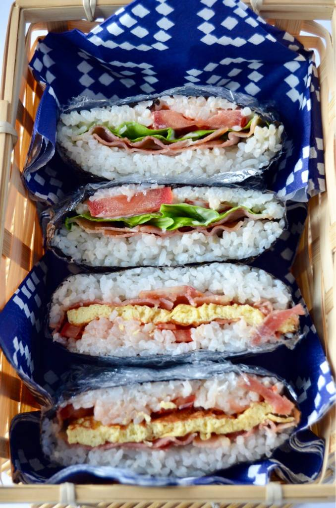 Onigirazu: een picknick recept