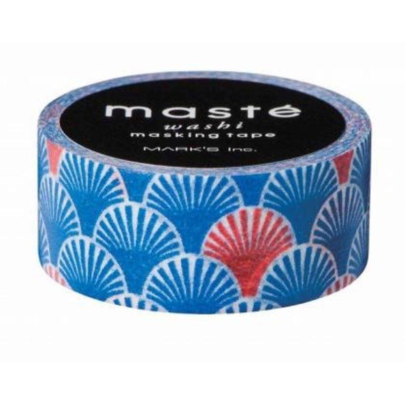 Washi Tape Seigaiha