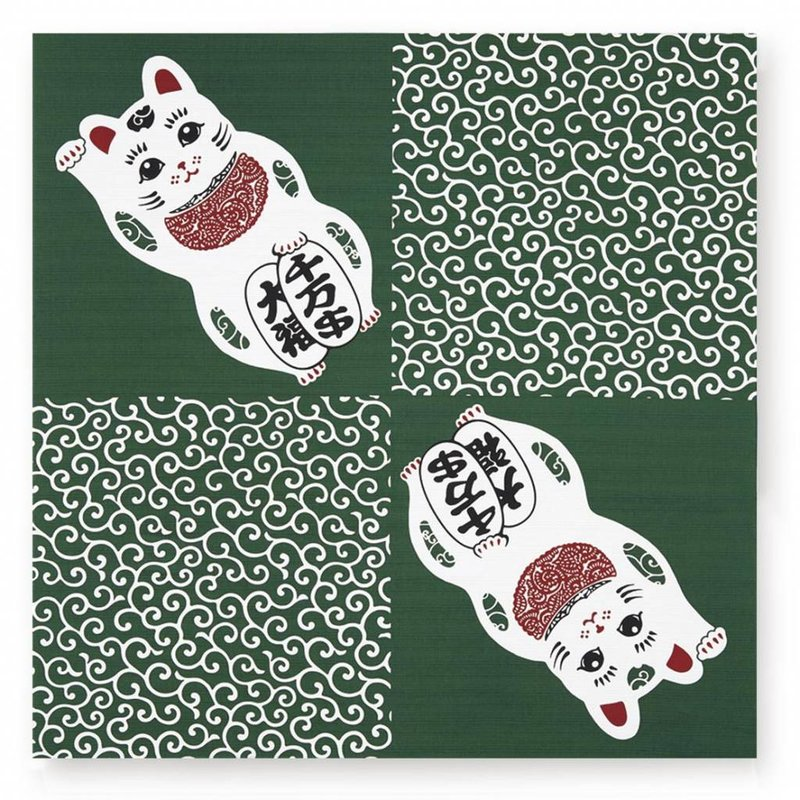 Furoshiki maneki neko - Japanese wrapping cloth