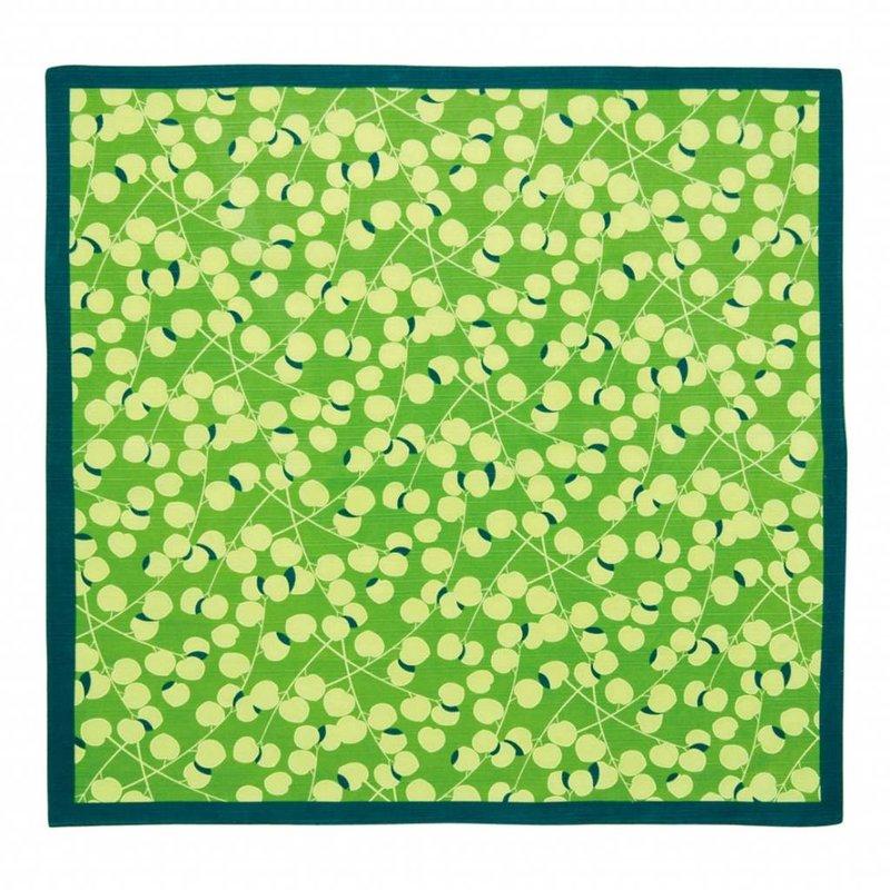 Furoshiki green - Japanse knoopdoek