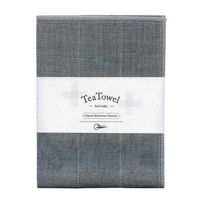 Tea towel with binchotan