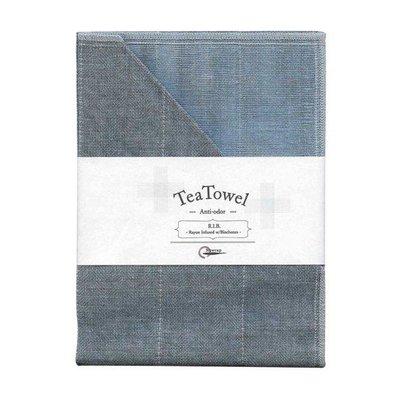 Tea towel with Binchotan Pink