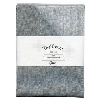 Nawrap Tea towel with Binchotan Gray