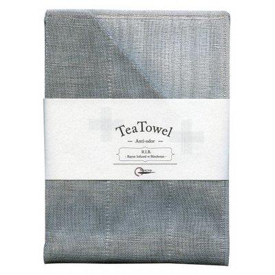 Tea towel with Binchotan Gray