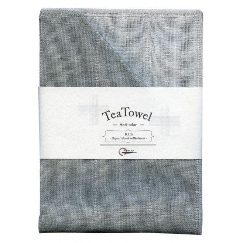 Nawrap tea towel binchotan gray