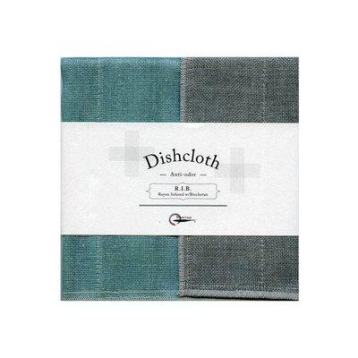 Dish cloth with Binchotan Turquoise
