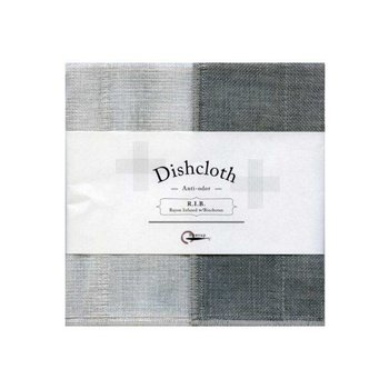 Dish cloth with Binchotan Gray