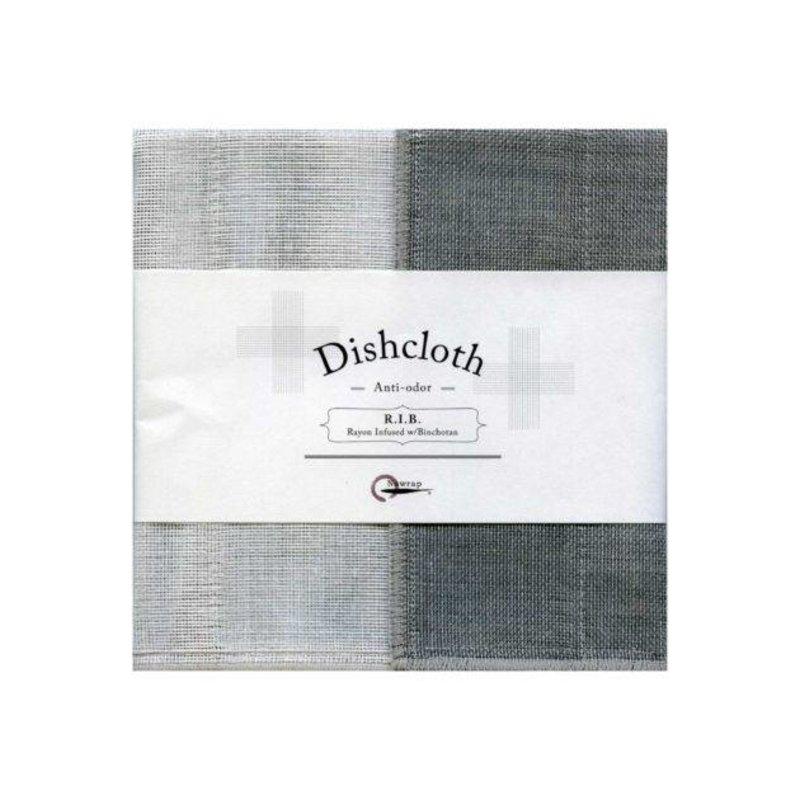 Nawrap dishcloth with binchotan gray