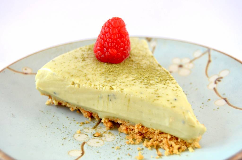 International Chocolate Day: Matcha White Chocolate Cheesecake
