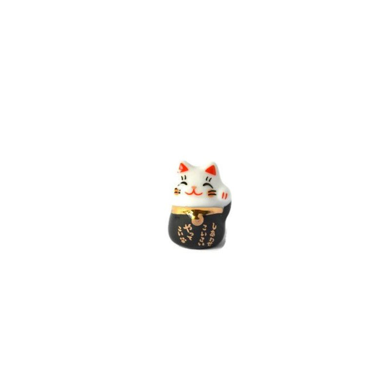 Lucky cat maneki neko zwart