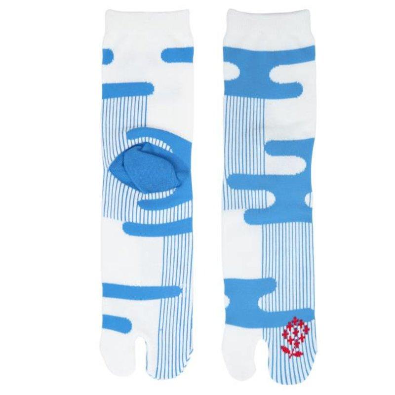 Japanse tabi sokken regenbui