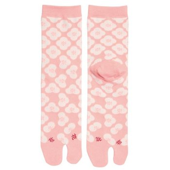 Kyo To To Socks Pink Flowers