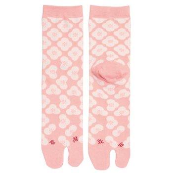 Kyo To To Sokken Roze Bloemen