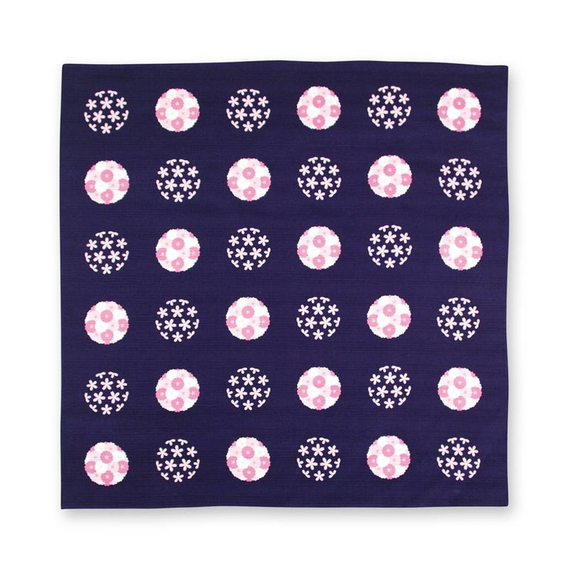 Furoshiki, Japanese button cloth sakura balls, 70cm