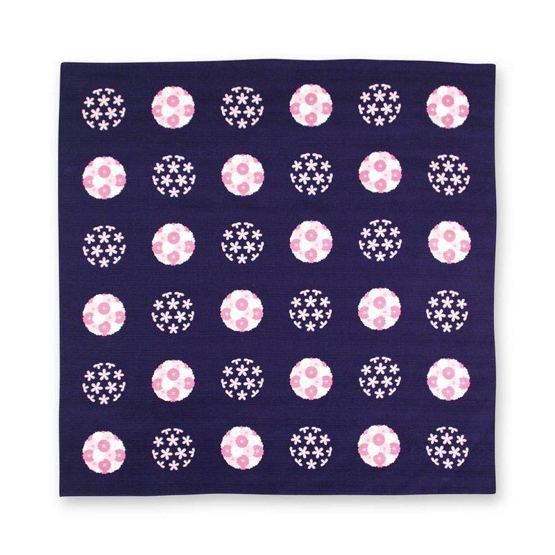 Furoshiki, Japanse knoopdoek  sakura balletjes, 70cm