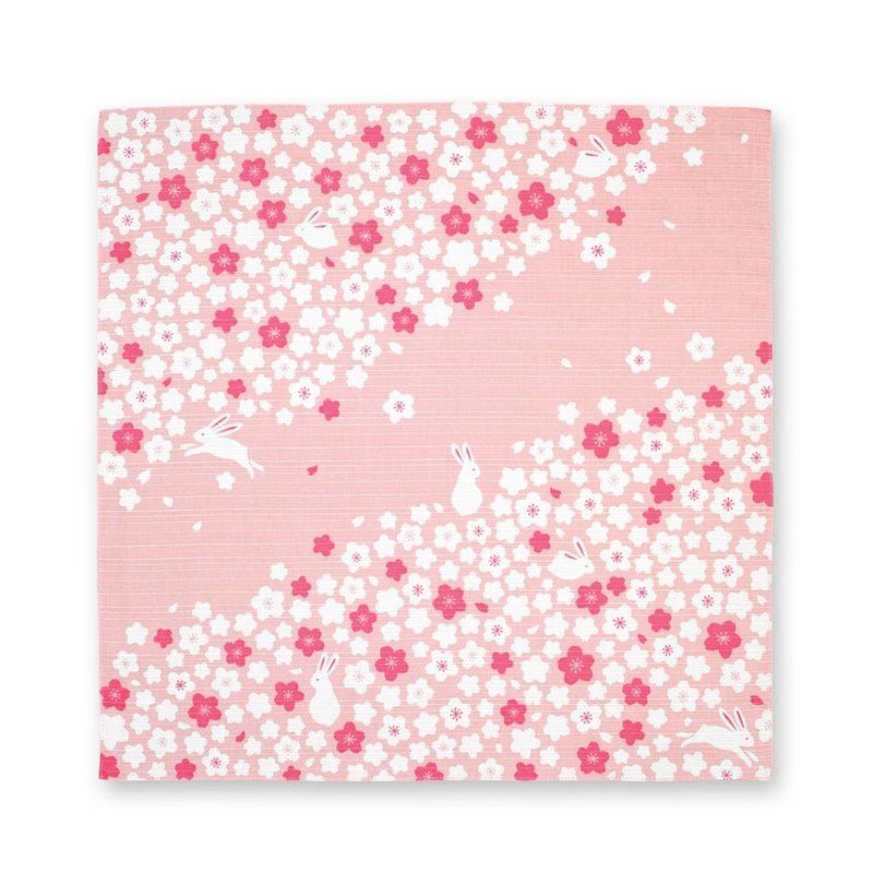 Japanese button cloth with cherry blossom