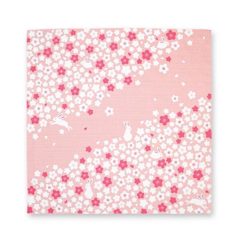 Japanse knoopdoek met kersenbloesem