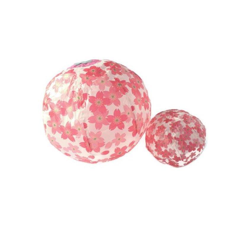 Japanse papieren ballon kami fuzen sakura
