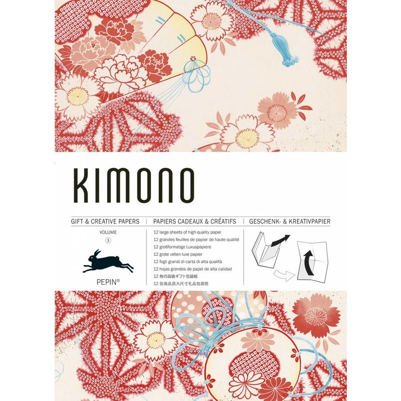 Gift and creative papers kimono
